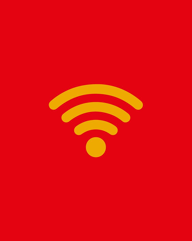 WiFi grátis no Braga Parque